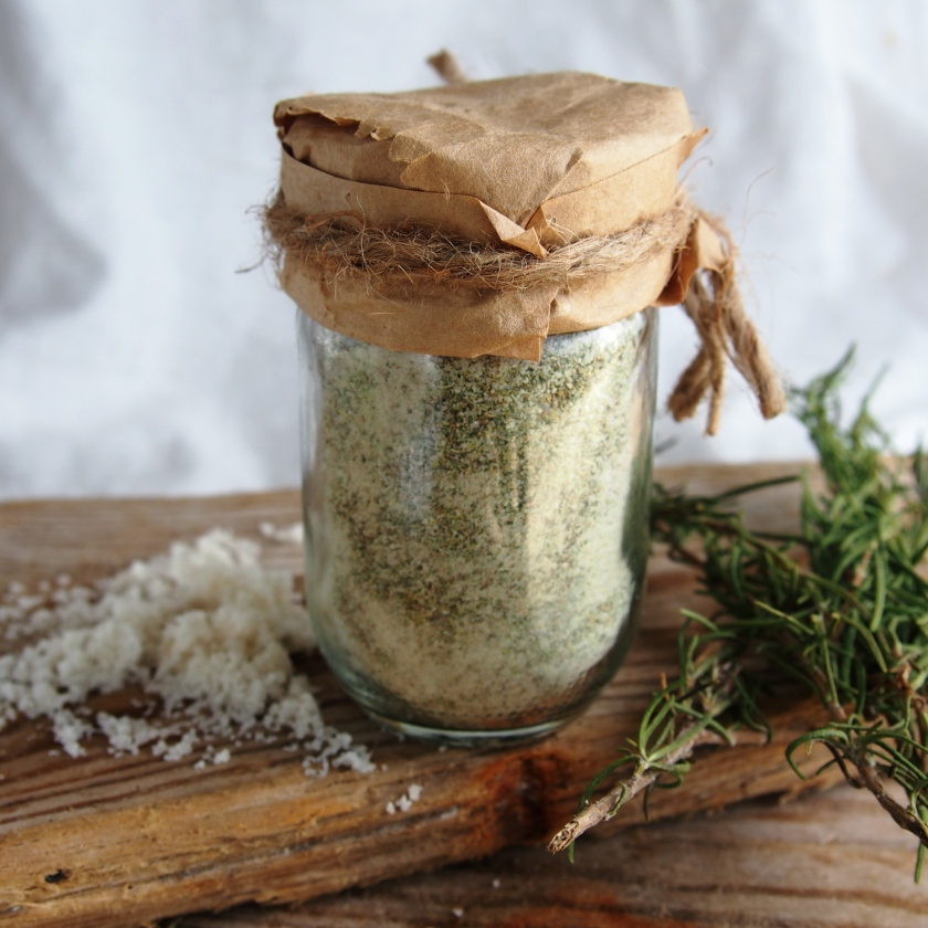 rosemary herb salt